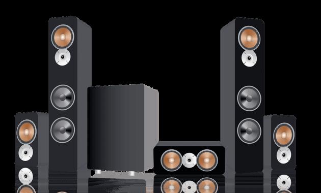 Surround Dolby Surround Sound Speakers System