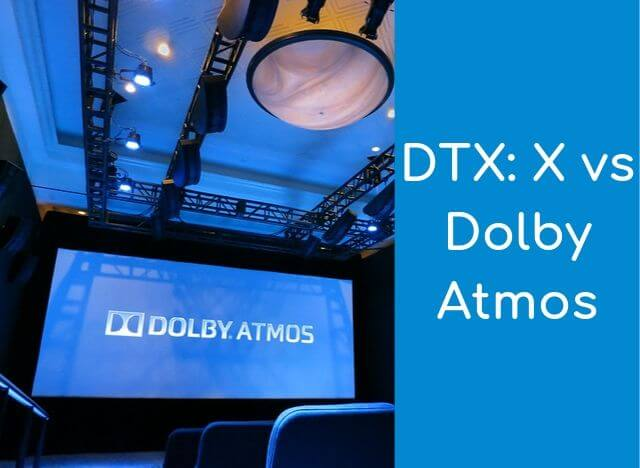 Findđiffer DTX X vs Dolby Atmos