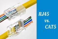 RJ45 vs CAT5