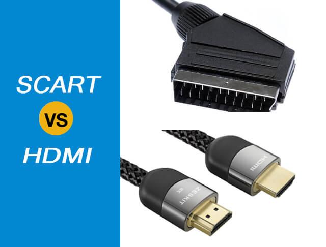 Working Principle Mechanism of SCART vs HDMI